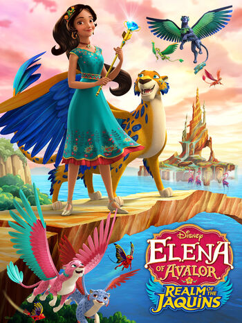 elena of avalor race for the realm