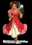 Princess Elena 3D render