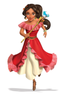 Princess Elena 3D render