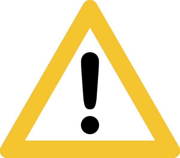 Image result for warning sign black