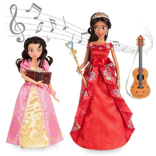 Elena And Isabel Singing Dolls