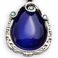 Purple Amulet Necklace
