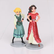 Elena And Naomi Figurines
