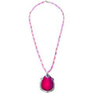 Pink Necklace Amulet