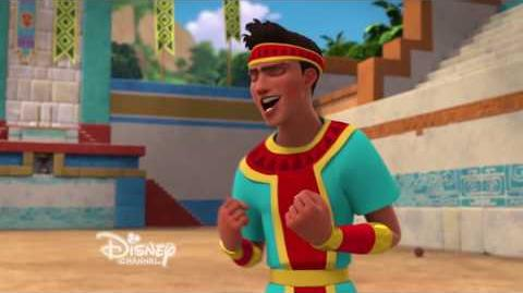Elena of Avalor - S1, Ep13 - Olaball - Jorge Diaz Makes His Singing Debut - EXCLUSIVE CLIP