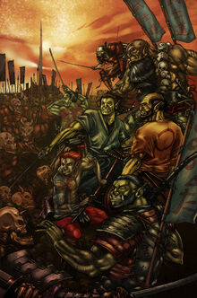 7 Samurai Orc remix colored by anchan