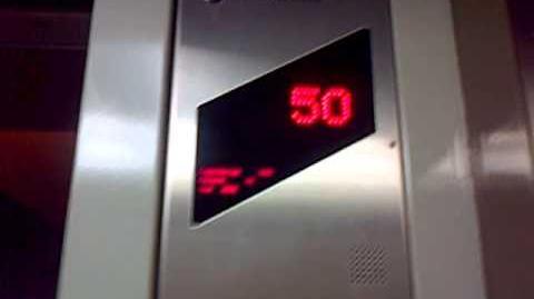 Jakarta - Wisma 46 ThyssenKrupp Traction Elevator (46 - 50)