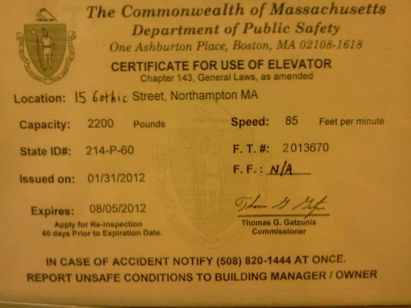 Elevator Inspection Certificate Elevator Wiki Fandom Powered By