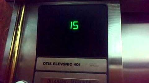 Jakarta - Intiland Tower Old Otis (Elevonic 401) Traction Elevators