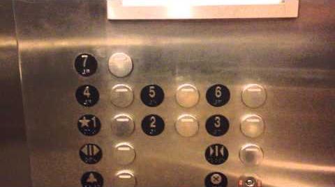 Kone Traction Elevator at 1500 K St