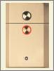 OTIS Series 4 hall button panel