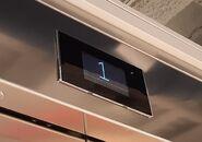 New Orona LCD landing indicator Barcelona ES