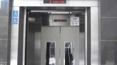 Clementi blk 420A-EM services elevator