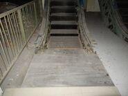 Abandoned Hyundai escalator