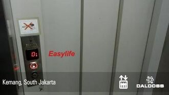 RARE Daldoss Easylife Hydraulic Elevator in Kemang, Jakarta