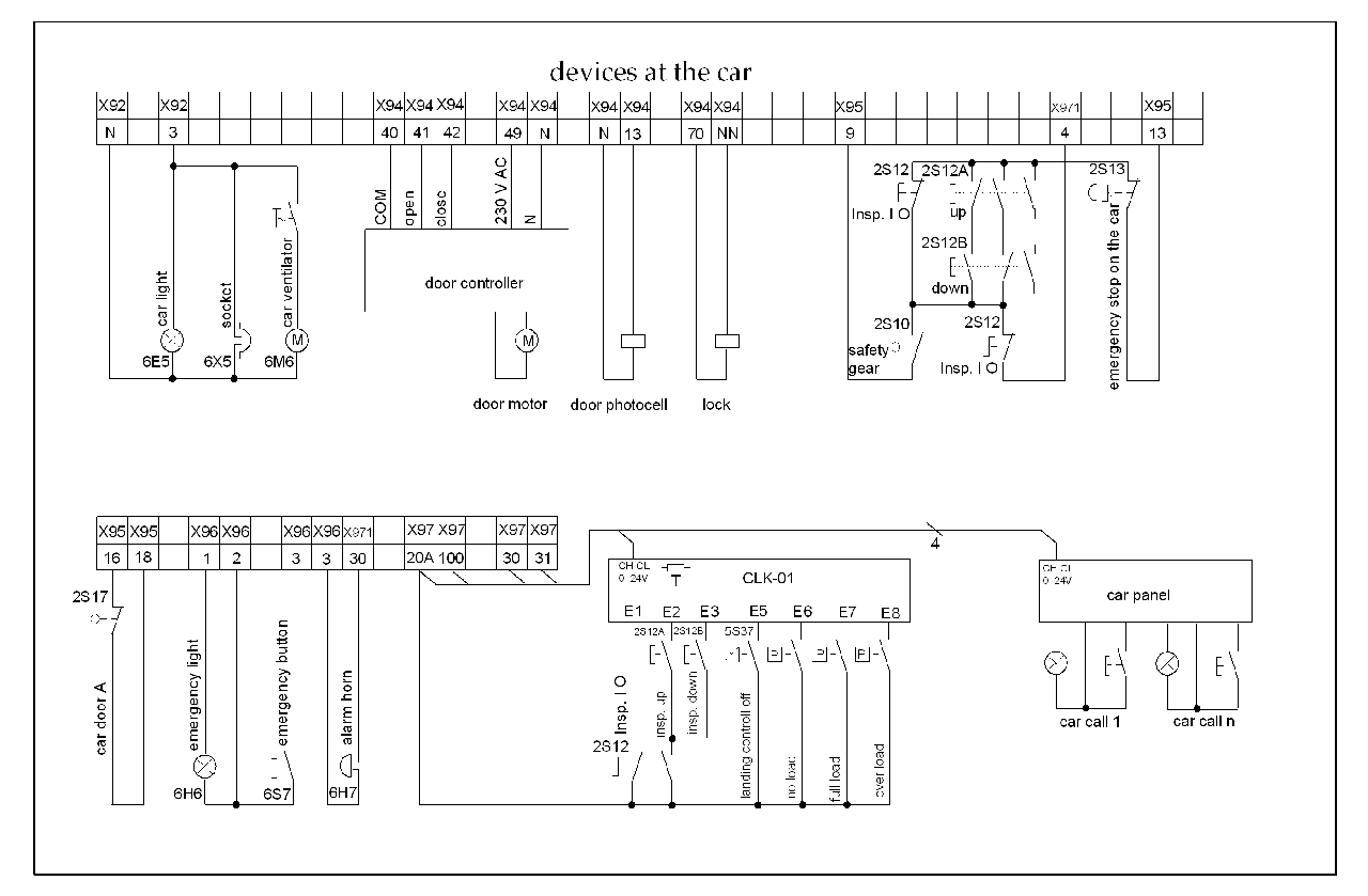 elevator wiring diagram wiring diagram u2022 rh championapp co How Elevators Work Diagram Early Elevator Diagram