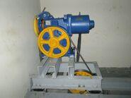 Sigma elevator gearless traction motor