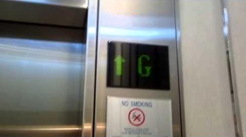 Ibis Bangkok Siam Brand New Schindler Traction Elevators