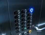 OTIS Gen2 2000 buttons wbraille