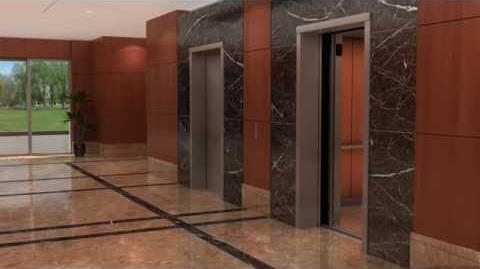 Otis Elevator Gen2 3D Animation