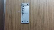 Vintage Schindler Elevator Buttons HDB