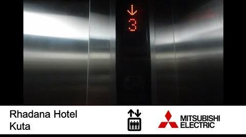 Mitsubishi MRL Elevator at Rhadana Hotel Kuta, Bali