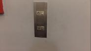 Schindler SSeries SingleGroup HallStation ArrowOff