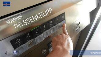 ThyssenKrupp Synergy Elevator - DPH, Mindelo, CV