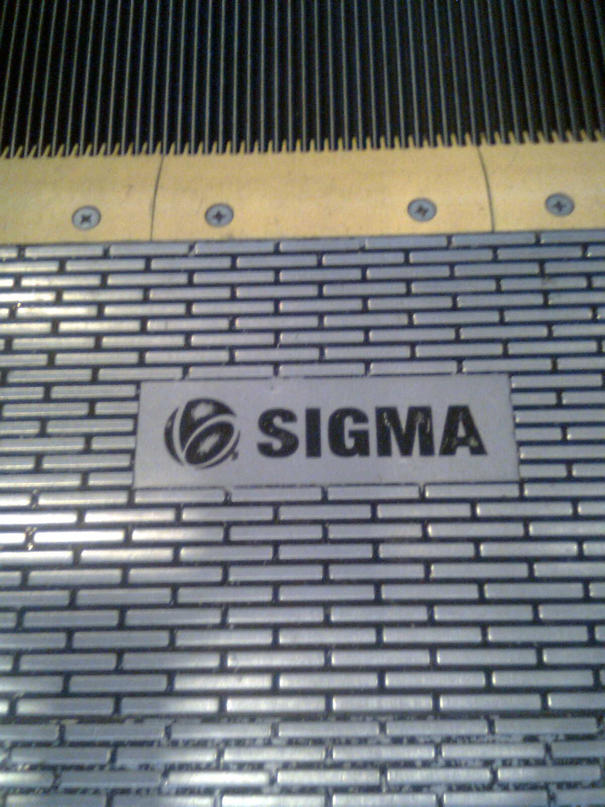 Sigma Escalator 2009