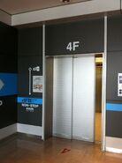Hitachi Elevator (Narita International Airport, Tokyo)
