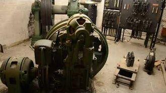 1929 Otis Freight Elevator Lift Mechanism
