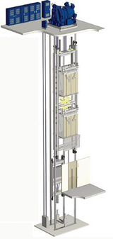 Double-deck elevator