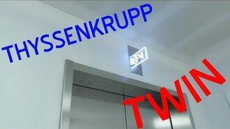(47A) The First ThyssenKrupp Twin Elevators in North America @ CODA Bldg, Georgia Tech, Atlanta, GA