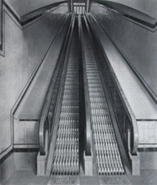 Cleat-type escalators
