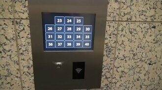 Fujitec Destination Dispatch Elevators (23-40) at Bank of America Plaza in Dallas, TX