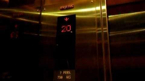 銅鑼灣百達中心Fujitec升降機