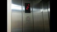 Indolift segments floor indicator