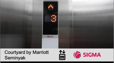 Sigma MRL Service Elevators at Courtyard by Marriott Seminyak, Bali (Main)