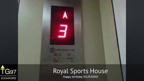Feipeng Traction Glass Lift - Royal Sports House, Bandung