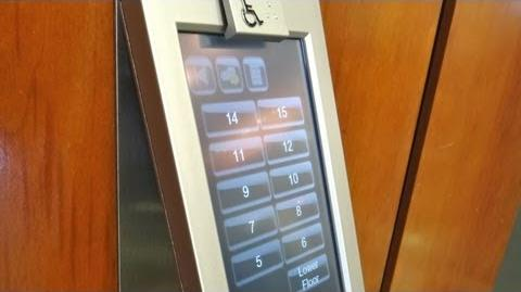 AMAZING Schindler Port Elevator @ Capital Bank Plaza Raleigh NC w ElevatingPirate