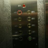 Fujitec Lift Buttons