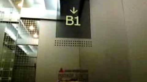 (Video 666) Shanghai Mitsubishi Traction Elevators at Grand Slipi Tower, Jakarta (18-49 PH)