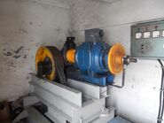 Indolift elevator machine