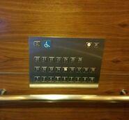 Mitsubishi handicap panel SG