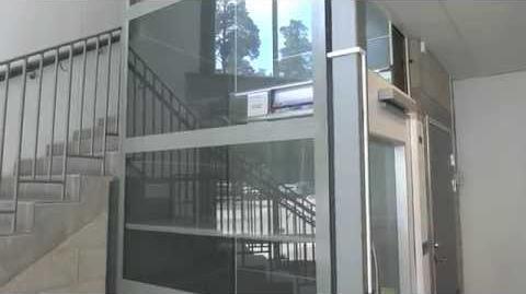 Cibes A5000 Screw Driven Elevator @ Testebohallen, Hillevägen 14, Gävle, Sweden