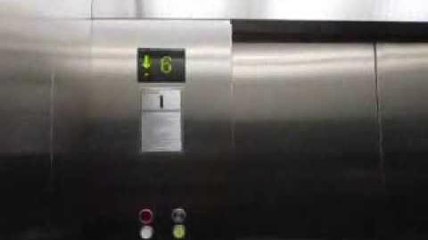 Some Nice Schindler Traction Elevators in Jakarta