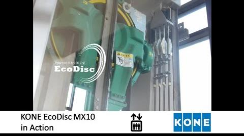 KONE EcoDisc Hoisting Machine in Action