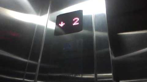 (Christmas Special 2) Thyssenkrupp elevators at Wisma RSPP, Jakarta (Remastered Version)