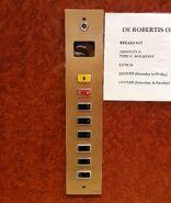 CEA lift buttons Valletta Malta
