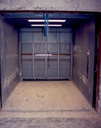 Freight elevator old